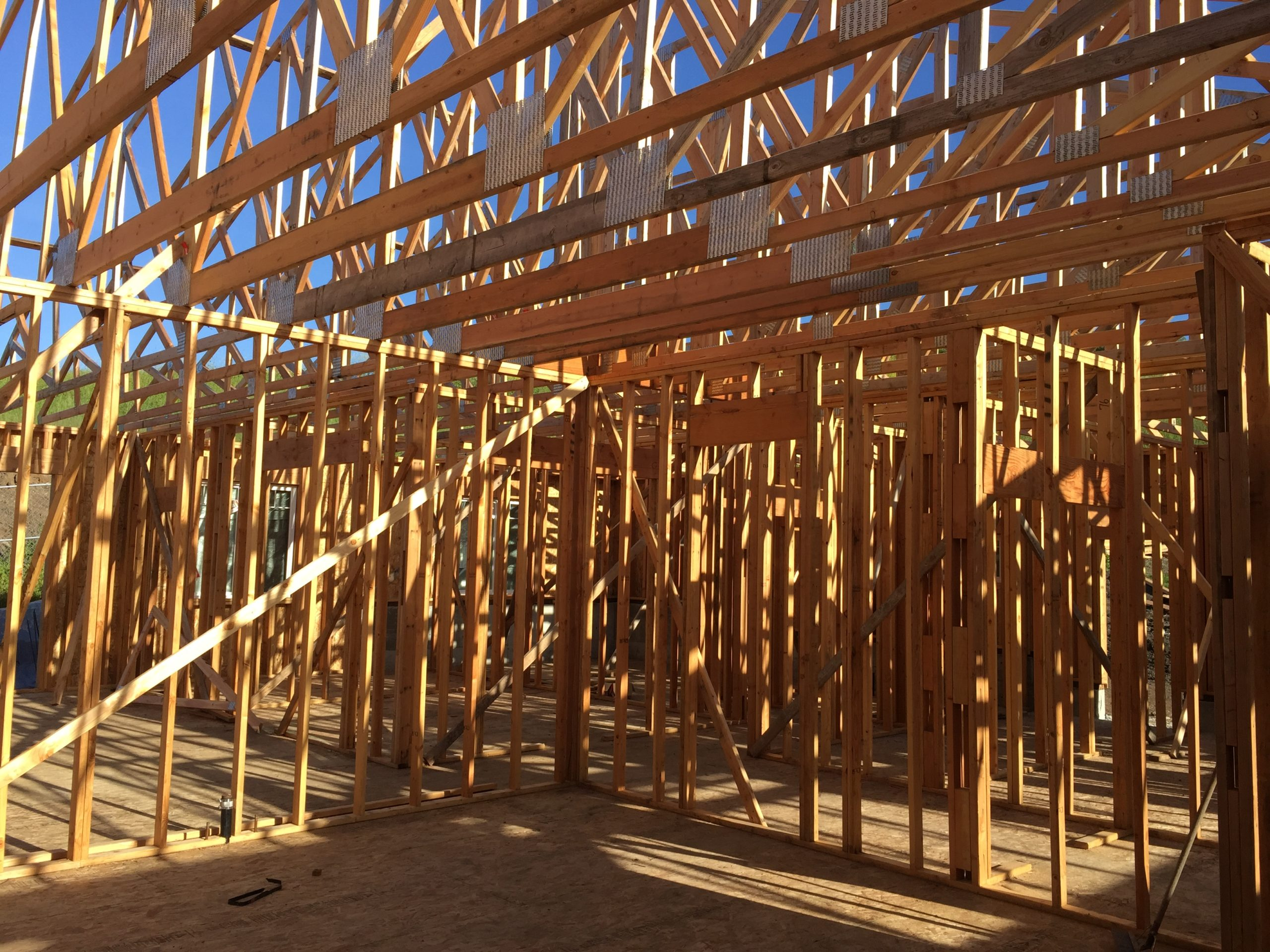 Bay Area Packaged Home Framing